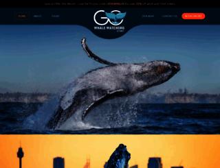 gowhalewatchingsydney.com.au screenshot