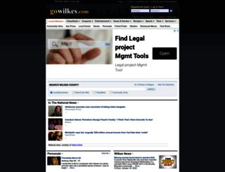 gowilkes.com screenshot