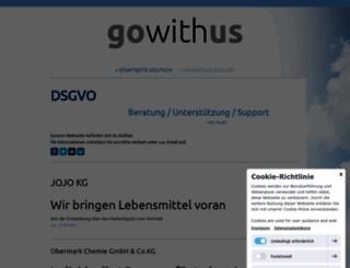 gowithus.de screenshot