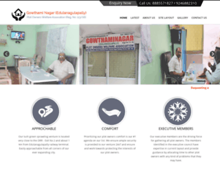 gowthaminagaredulanagulapally.com screenshot