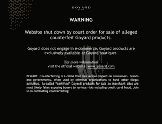 goyardtotes.com screenshot
