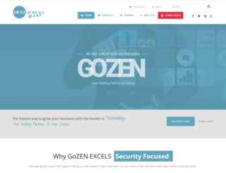 gozenhost.com screenshot