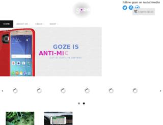 gozeproducts.com screenshot