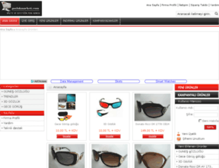 gozlukmarketi.com screenshot