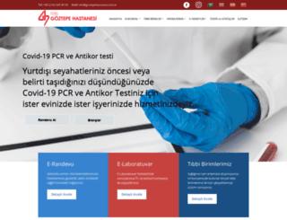 goztepehastanesi.com.tr screenshot