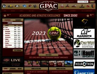 gpacsports.com screenshot