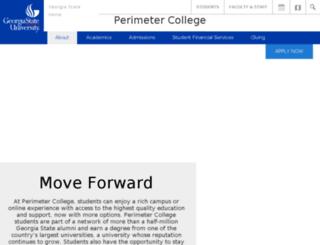gpc.edu screenshot