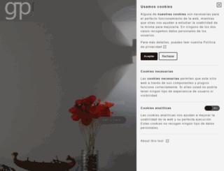 gpconsultores.com screenshot