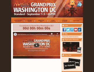 gpdc.starcitygames.com screenshot