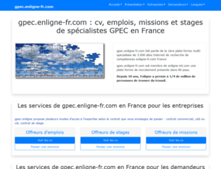 gpec.enligne-fr.com screenshot