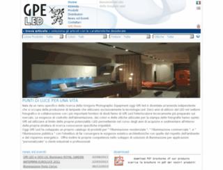 gpesrl.com screenshot