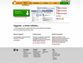 gpg4win.org screenshot