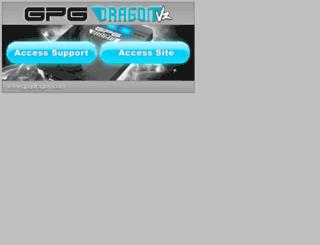 gpgdragonsupport.com screenshot