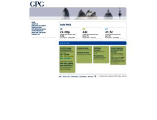 gpgplc.com screenshot