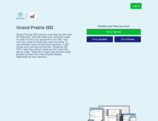 gpisd.edmodo.com screenshot
