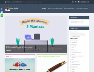 gpkafunda.com screenshot