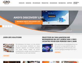 gposolutions.nl screenshot