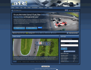 gpro.net screenshot