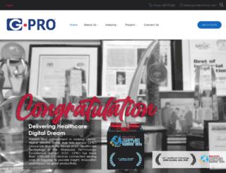 gprotechnologies.com screenshot