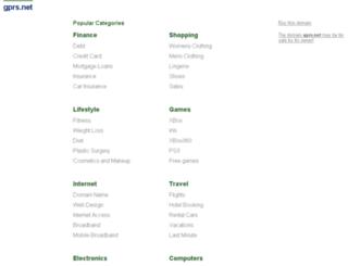 gprs.net screenshot