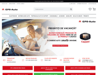 gps-auto.ro screenshot