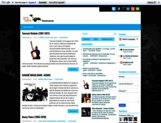 gps-sonoro.blogspot.com screenshot