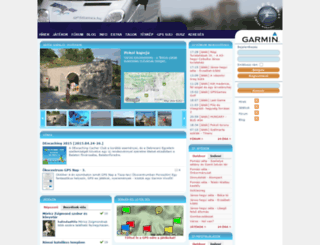 gpsgames.hu screenshot