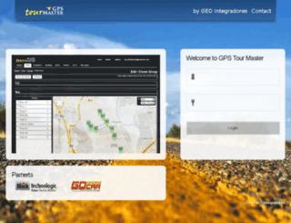 gpstourmaster.com screenshot