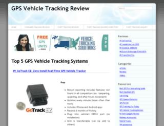 gpsvehicletrackingreview.com screenshot