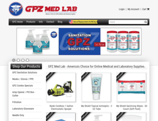 gpzmedlab.com screenshot
