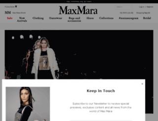 gr.maxmara.com screenshot
