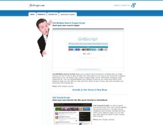 gr8script.com screenshot