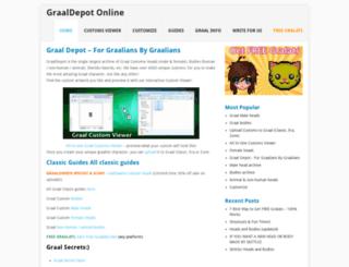 graaldepot.com screenshot