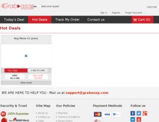 grabasap.in screenshot