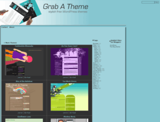 grabatheme.com screenshot