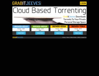 grabitjeeves.com screenshot