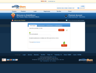grabitshare.com screenshot