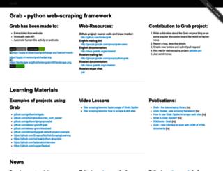 grablib.org screenshot