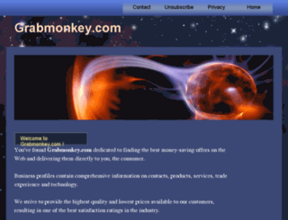 grabmonkey.com screenshot