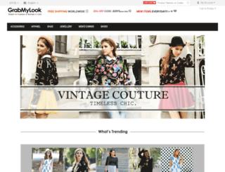 grabmylook.com screenshot