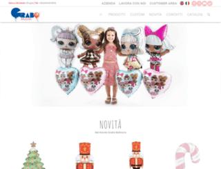 grabo-balloons.com screenshot