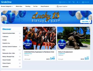 grabone.co.nz screenshot