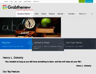 grabthenew.com screenshot