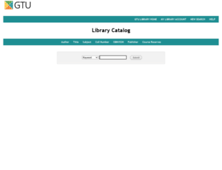 grace.gtu.edu screenshot