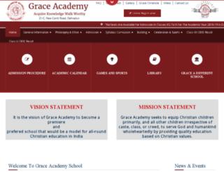 graceacademyindia.com screenshot