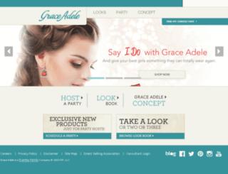 graceadele.co.uk screenshot