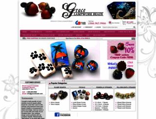 gracebeads.com screenshot