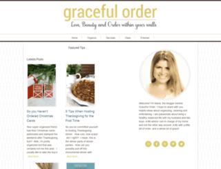 gracefulorder.com screenshot