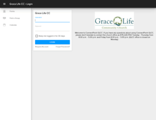 gracelife.ccbchurch.com screenshot