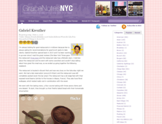 gracenotesnyc.com screenshot